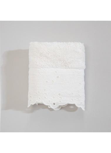 Chakra Estela Havlu 30*50 Beyaz